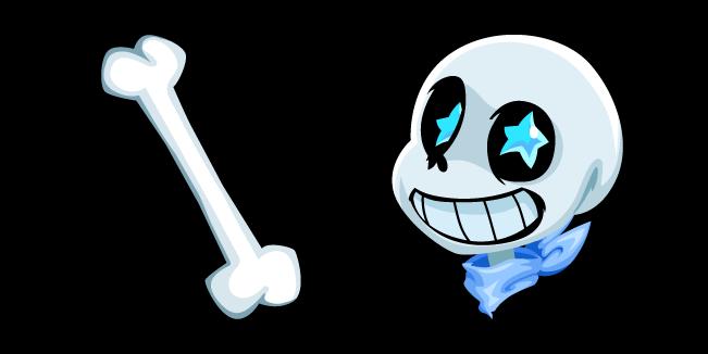 Undertale Blueberry Sans and Bone