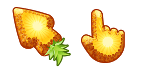Materials Pineapple Cursor