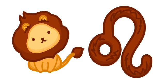 Cute Zodiac Sign Leo