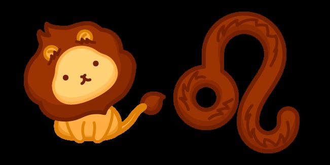 Милый Знак Зодиака Лев