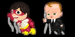 Thanksgiving Parade Balloons Red Titan and Boss Baby Cursor