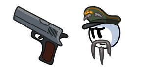Henry Stickmin General Hubert Galeforce and Pistol Cursor