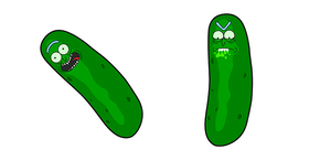 Rick and Morty Pickle Rick Cursor