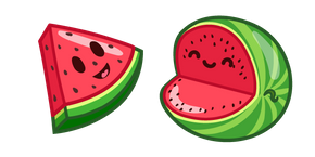 Cute Watermelon Curseur