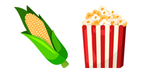 Popcorn and Corn Cursor