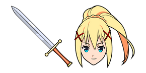KonoSuba Darkness and Sword Cursor