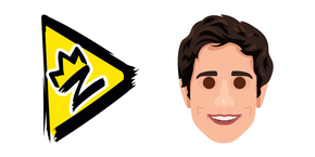 Zach King and Logo Curseur