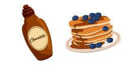 Pancakes and Syrup Cursor