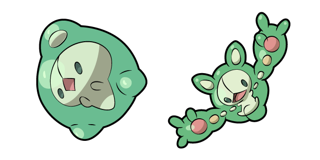 Pokemon Duosion and Reuniclus