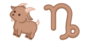 Cute Zodiac Sign Capricornus Cursor