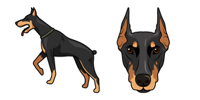 Doberman Dog Cursor