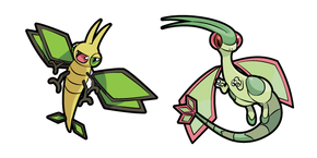 Pokemon Vibrava and Flygon Cursor