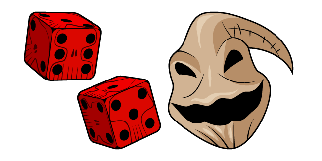 Nightmare Before Christmas Oogie Boogie and Dice