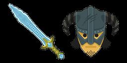 Skyrim Chillrend Sword Curseur