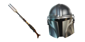 Fortnite Mandalorian and Amban Sniper Rifle Cursor