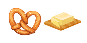 Pretzel and Butter Cursor