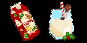 Christmas Eggnog Cursor