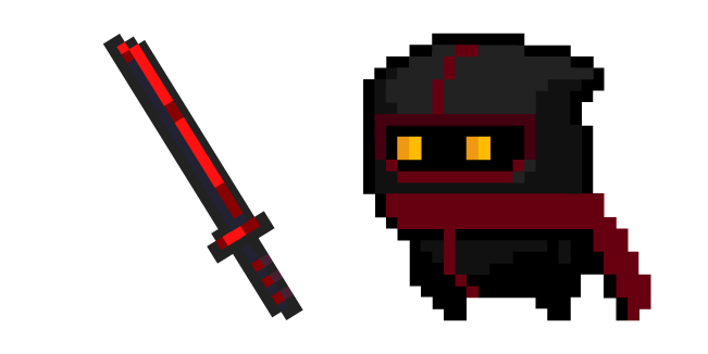 Soul Knight Assassin and Blood Blade