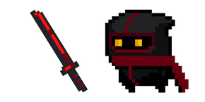 Soul Knight Assassin and Blood Blade Curseur