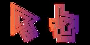 Colorful Maze Cursor