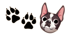 Boston Terrier Dog Cursor