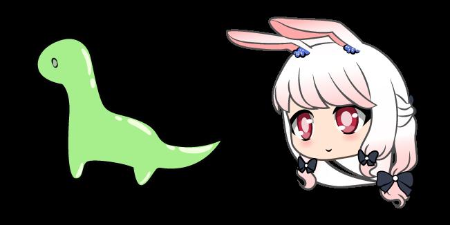 Gacha Life Yukina and Dino Toy