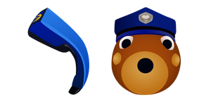 Курсор Roblox Piggy Officer Doggy