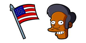 The Simpsons Apu Nahasapeemapetilon Curseur