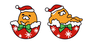 Курсор Рождественский Гудетама