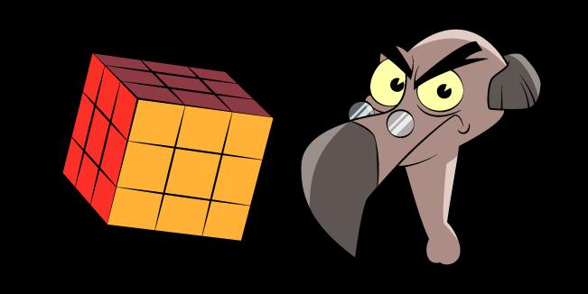DuckTales Bradford Buzzard and Rubik's Cube