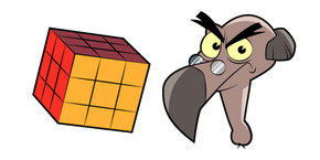 DuckTales Bradford Buzzard and Rubik's Cube Cursor