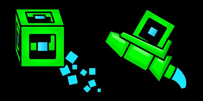 Geometry Dash 3D Игрок Куб и Корабль