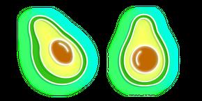 Neon Avocado Curseur