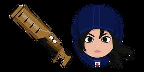 Курсор Rainbow Six Siege Hibana X-Kairos Launcher