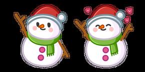 Cute Snowman Cursor