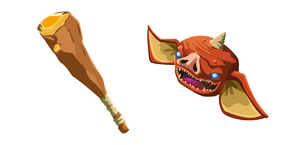 The Legend of Zelda Bokoblin and Boko Club Cursor
