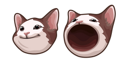Pop Cat Meme Curseur