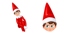 Christmas Elf on the Shelf Curseur