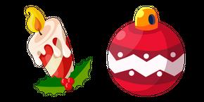 Christmas Candle and Ball