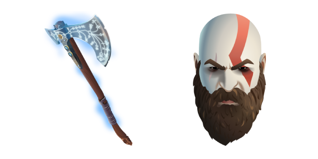 Fortnite Kratos and Leviathan Axe