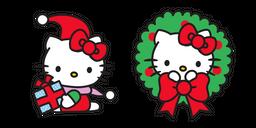 Christmas Hello Kitty Curseur
