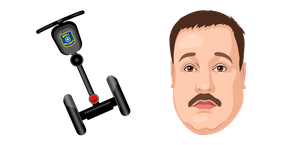 Paul Blart Mall Cop and Segway Curseur