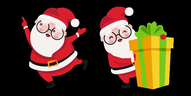 Christmas Santa and Present