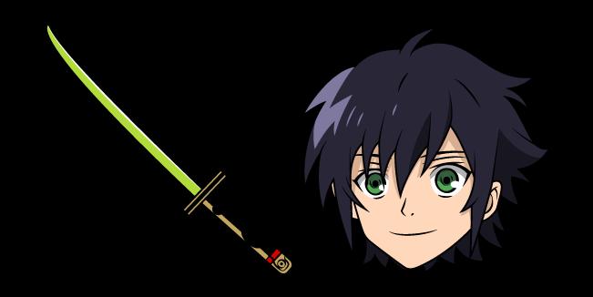 Seraph of the End Yuichiro Hyakuya and Sword