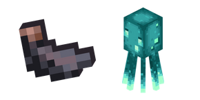 Minecraft Squid and Ink Sac Cursor
