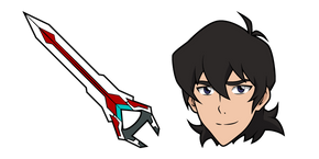 Voltron Keith and Sword Cursor