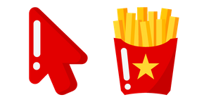Minimal French Fries Cursor