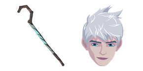 Rise of the Guardians Jack Frost and Magic Staff Cursor
