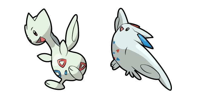 Pokemon Togetic and Togekiss