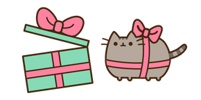 Pusheen Present and Gift Box Cursor